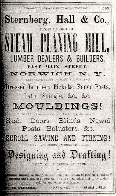 Sternberg Advertisement