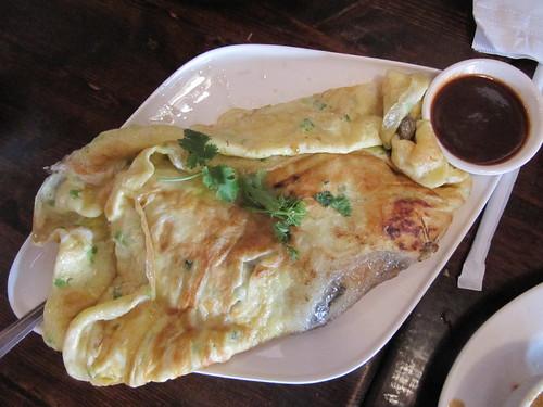 Penang, oyster omelette