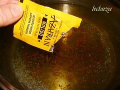 Gratinado pasta y brecol-añadir azafran