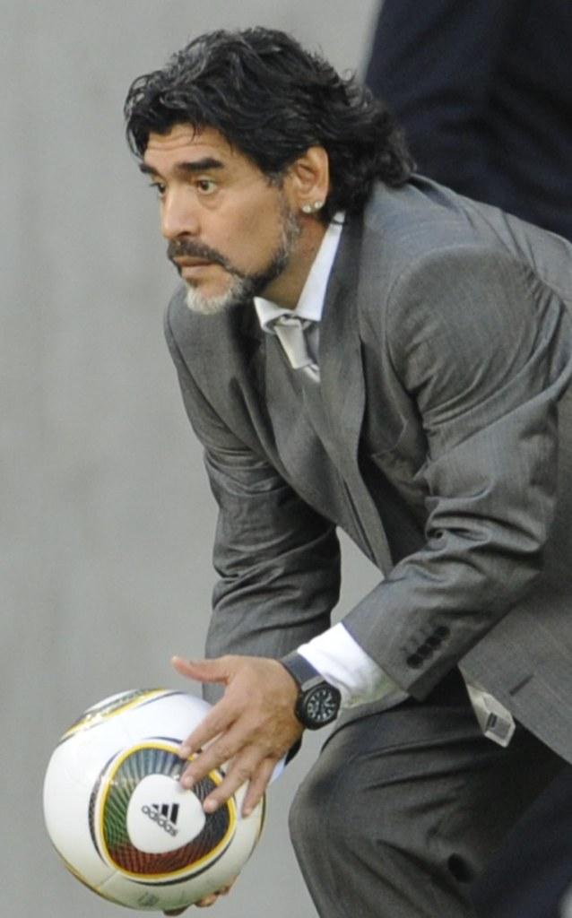 Mundial Argentina Diego Maradona Jabulani