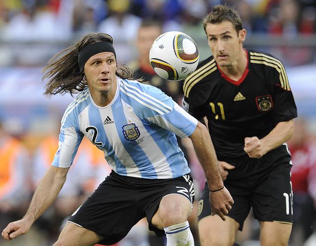 Mundial Argentina Martin Demichelis Alemania Miroslav Klose