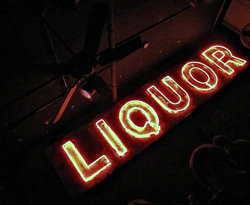 blues city cafe liquour sign