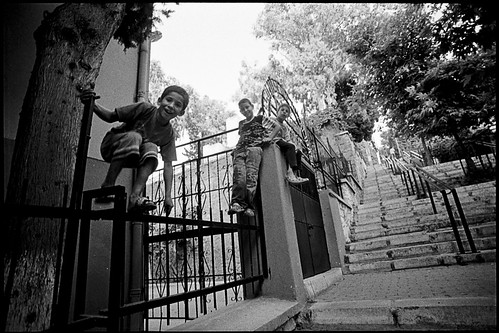 Boys Playing In Street - Izmir, Turkey