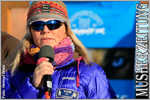 Nina Skramstad - Alta, Norway - Finnmarkslopet 2010 - musherzeitung.de