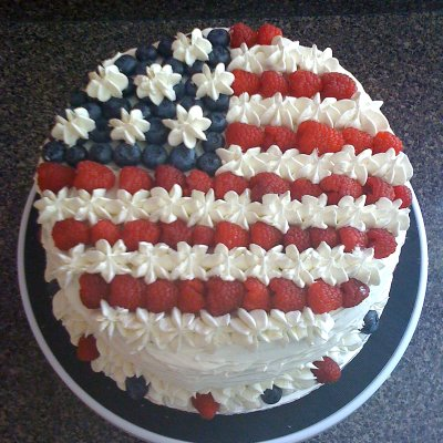 Lemon Flag Cake
