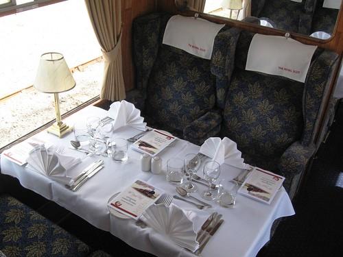 Pullman Dining - Heritage Train (UK)