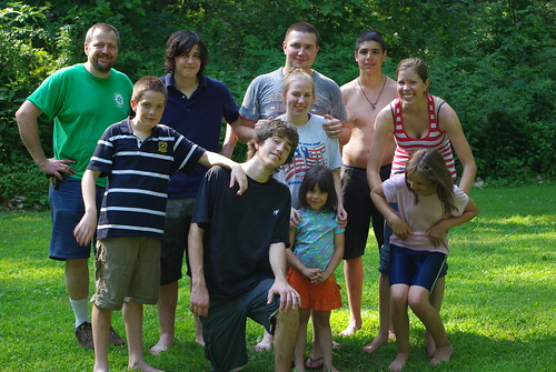 LaVictoire/Hood family 2010 fourth of july