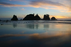 Sunset, Shi Shi Beach, July 2, 2010, Olympic National Park, Washington State (i8seattle) Tags: ocean sunset sea reflection beach water colors clouds sunrise point washington pacific pacificocean pacificnorthwest olympic olympics washingtonstate olympicnationalpark shi pacificcoast washingtoncoast northwestcoast seastack seastacks panorma olympiccoast shishibeach pointofarches pointofthearches beacholympic northwestimages northwesternimages andyporterphotography northwesternimagescom washingtonphotography imagesofwashingtonstate picturesofwashingtonstate picturesofthepacificnorthwest seastacksunset imagesofwashington photosbyandyporter