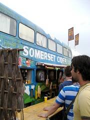 Cider Bus (VickyLizzy) Tags: glastonbury2009