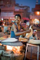 India #66: Pink City (zane&inzane) Tags: street travel pink light boy red portrait india cooking night dark bread fire 50mm prime nikon asia indian low gang documentary sigma hindu jaipur d3 hindi rajasthan pinkcity chapati 50f14 baggar