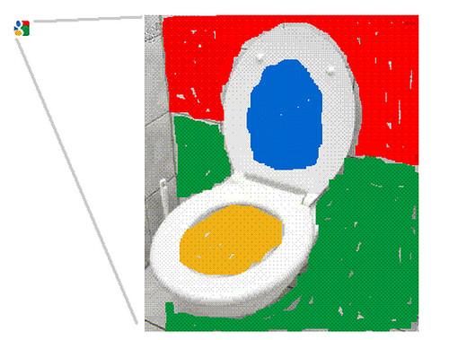 Google Favicon Toilet