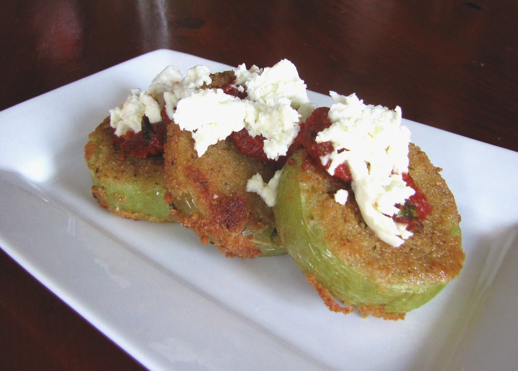 Fried Green Tomatoes...