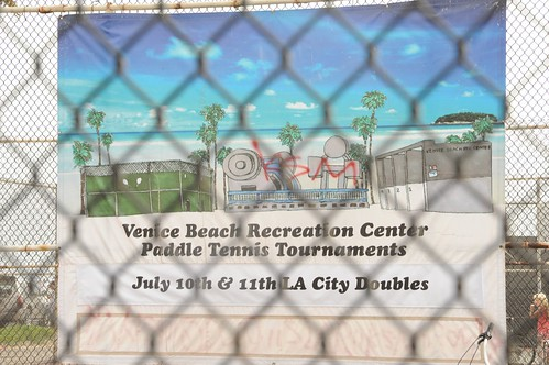 Paddle Tennis Venice Beach