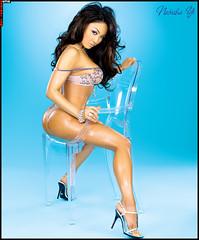 Natasha Yi show magazine pictures