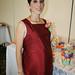 Mary Carmen Orozco de Glass en las últimas semanas de embarazo.