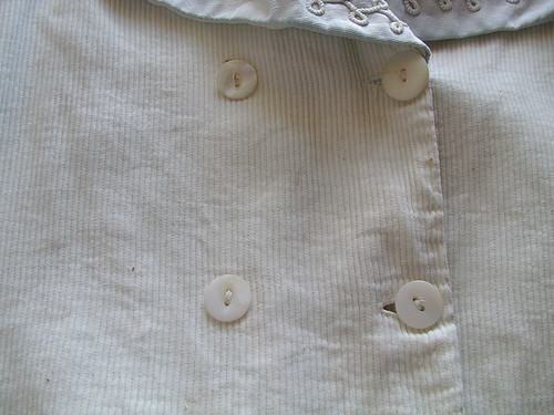 button placket
