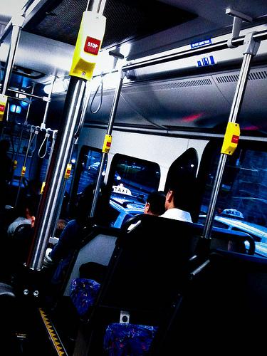 Sydney bus (interior)
