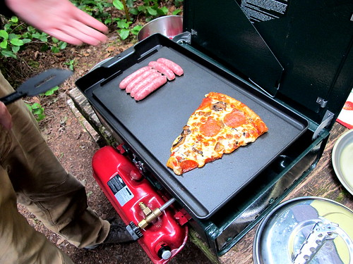 Pizza, camping?