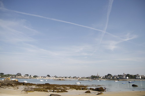 Nice weather in Brignogan