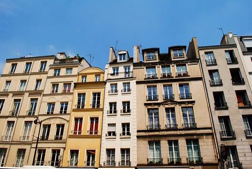parisien flats.