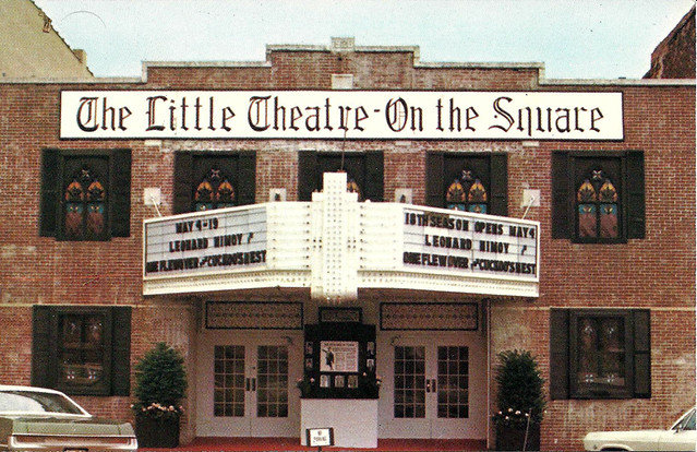 Leonard Nimoy stars in One Flew Over The Cuckoo's Nest at the Little Theatre on the Square in Sullivan Illinois