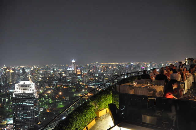 Rooftop bar in Bangkok - Vertigo