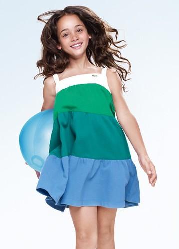 Moda infantil verano 2010, ropa para niños de Lacoste