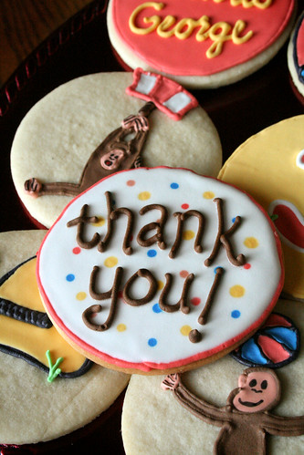 The matching Thank-You cookie.