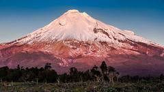 Blue Rata Outlook (Mark Solly (F-StopNinja)) Tags: blue sunset mountain snow volcano cone scenic reserve peak alpine treeline taranaki conical rata mtegmont mttaranaki mounttaranaki mountegmont