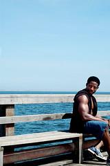 Strike a pose (Tarnie) Tags: nyc ny newyork beach brooklyn coneyisland poser
