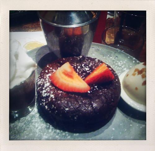 Dessert at Max Brenner