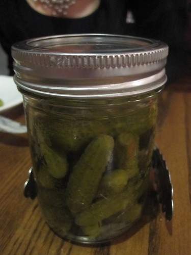 Pickles at Brasserie T