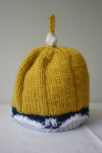 Golden Dome baby hat