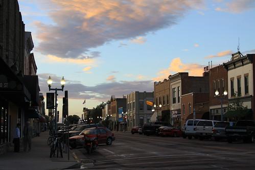Laramie at Dusk