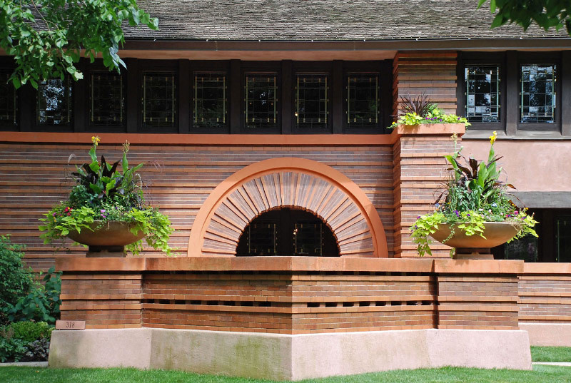 Heurtley House by Frank Lloyd Wright (1902)