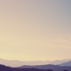 (Steven. L) Tags: cake ferry landscape pretty dreamy layers minimalism tones layered mountans