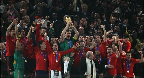 Spain - FIFA World Cup 2010 Winners