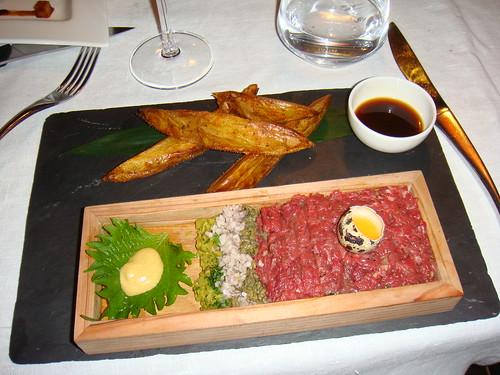 New Style Charolais Beef Tartare