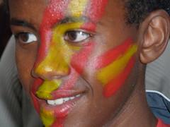 Addis Abeba, en Ferrol (España Campeona)