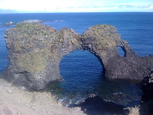 Die Isländische Landschaft erinnert mich...