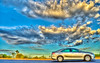 The Rental in HDR: 2010 Toyota Camry (DMF Photography) Tags: california travel cars clouds landscapes desert sandiego joshuatree nationalparks westcoast hdr highdynamicrange sandiegocounty joshuatreenationalpark photomatix joshuatreeca 3exp