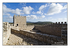Sesimbra Castle / Castelo de Sesimbra #11 (Jose Elias / StockPhotosArt.com) Tags: tower castle portugal monument de europe european district mediev