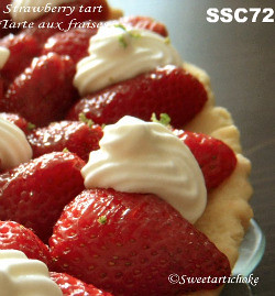 SSC72 - Strawberry tart with a green lime twist