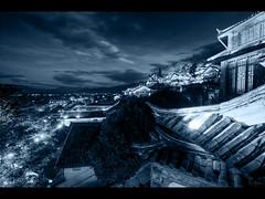 Lijiang old town at night (Kaj Bjurman) Tags: china eos 5d hdr kaj mkii markii cs4 photomatix bjurman