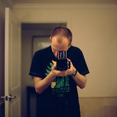 Lionrok Hasselblad Self (Bright Lights, Vegas Nights) Tags: california portrait 120 6x6 film self mediumformat square hotel mirror fuji newportbeach hasselblad selfie hasselblad500cm fujipro400h carlzeissplanar80mmf28 autaut addictclothing lionrok