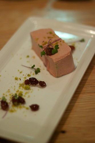 foie gras parfait with toasted brioche