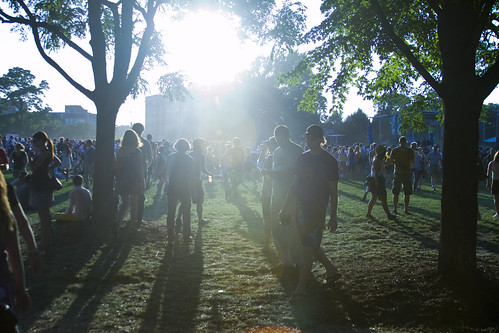 Pitchfork Music Festival gets underway (photo by Kate Gardiner/NewsHour)