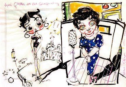 Betty Boop & Mae Questel