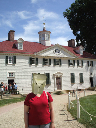 Unknown Visitor to Mt. Vernon