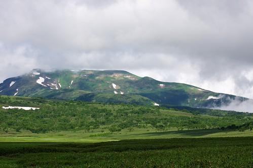 初夏の暑寒別岳